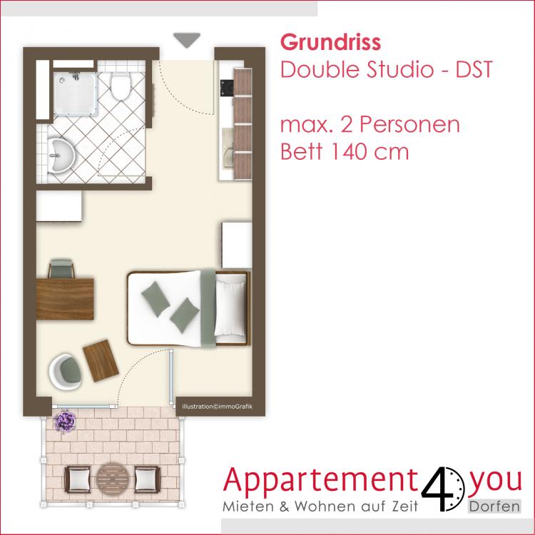 double studio   real estate services gmbh, Hause deko
